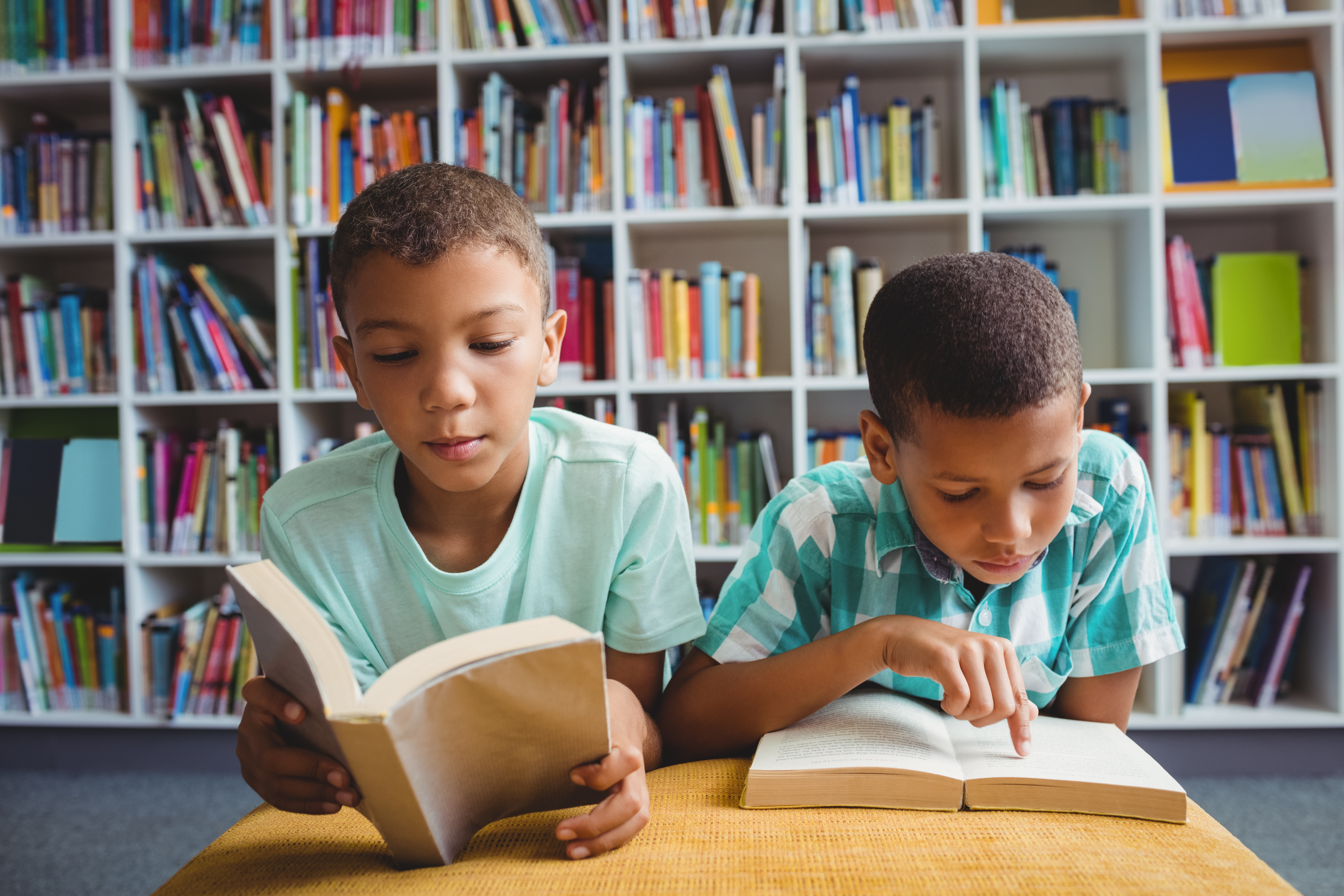 Visiting the library is a great way to keep children learning this summer