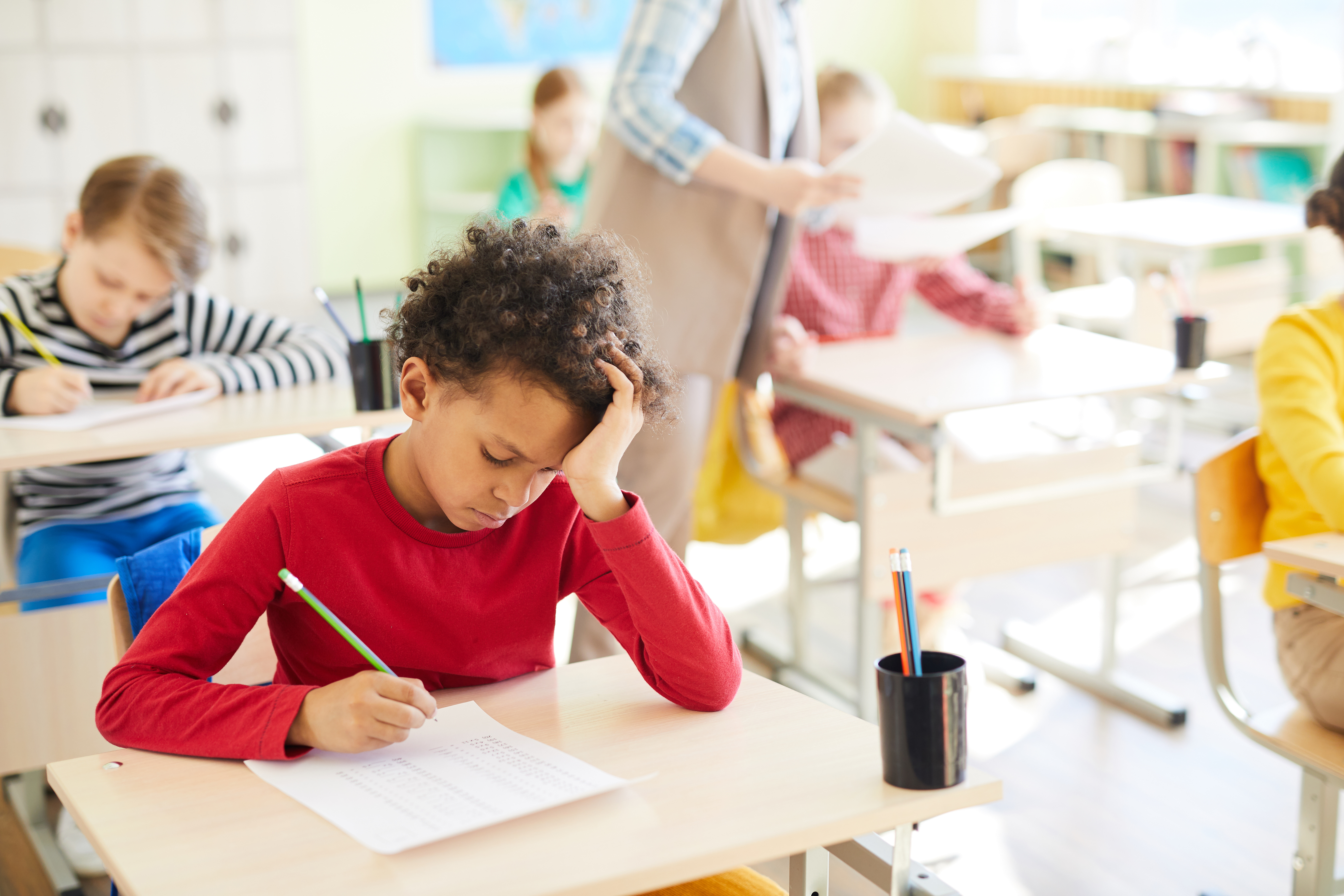Preventing anxiety in students test taking