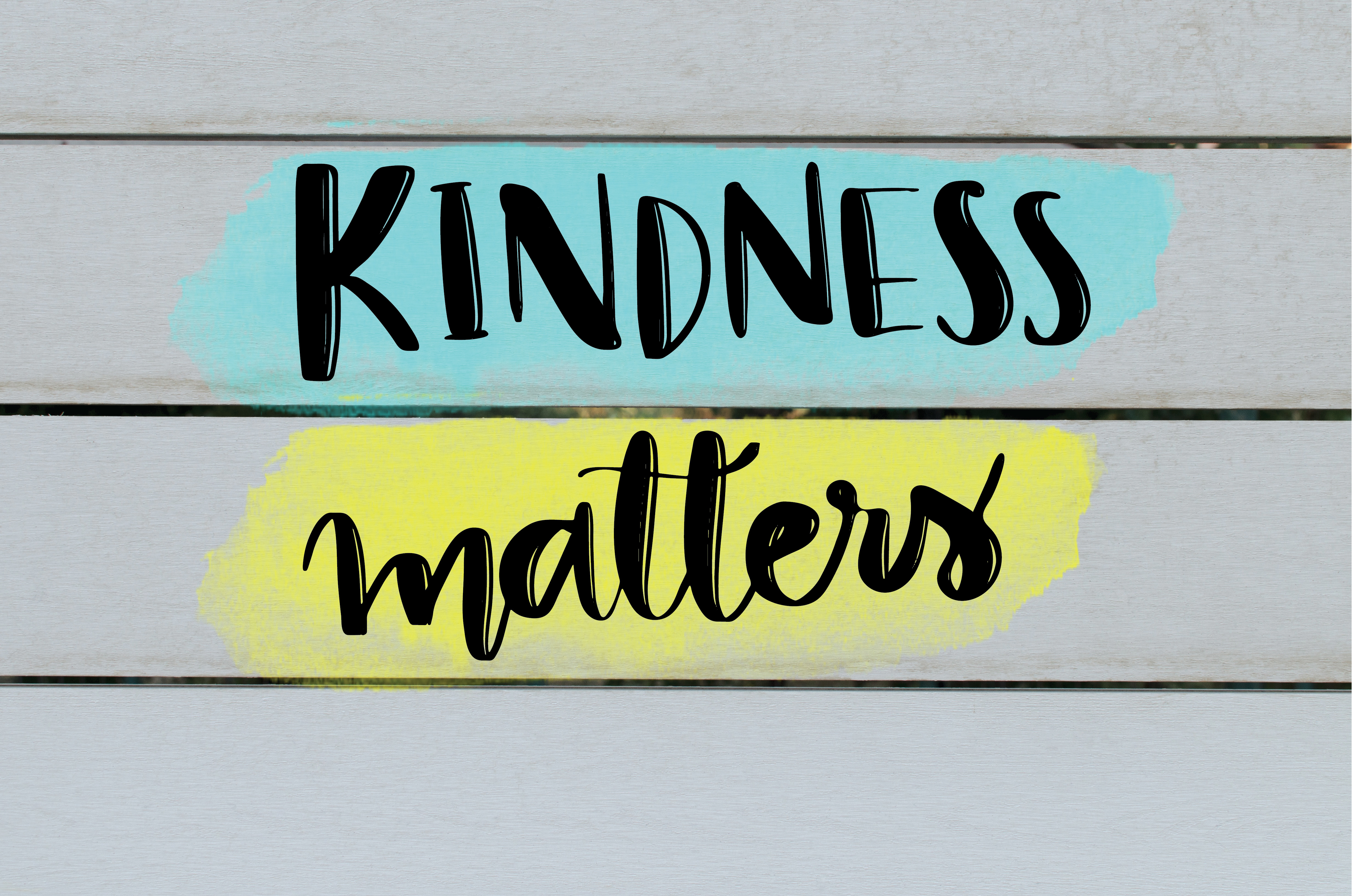 Kindness in the classroom matters